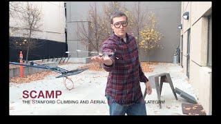 Meet SCAMP: The Flying, Perching, Climbing Robot