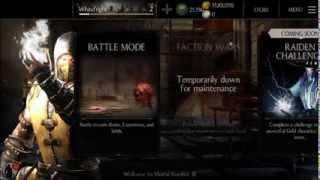 "Mortal Kombat X ""Test Your Luck"" Unlimited Plays iOS & Android"