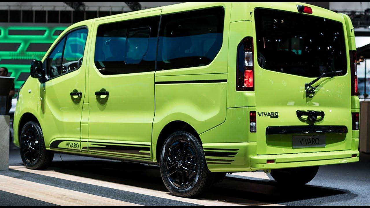 Nissan Work Van >> IAA 2017 | Opel Vivaro + 2018 Combo | Opels LCV Familie auf Eroberungstour - YouTube