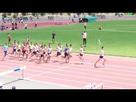 1500m Seniors Hommes 3ème Meeting Fédéral Benguerir 29/04/2018