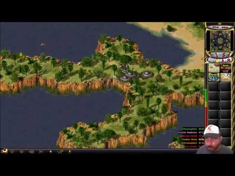 Command & Conquer Yuri's Revenge Multiplayer - BEST Matches of Live Stream Sorry for Bad Quality ☹ - 동영상