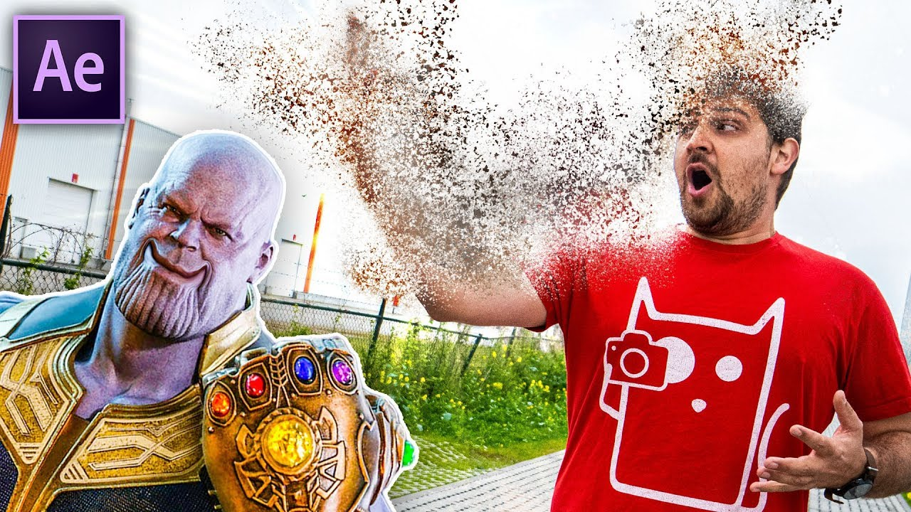 Thanos Disintegration in After Effects (No Plugins) | Cinecom net
