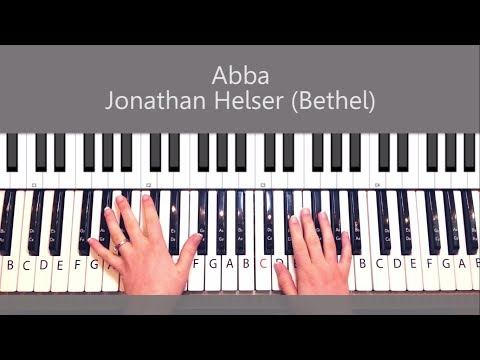 Abba, I Belong To You Jonathan Helser Piano Tutorial