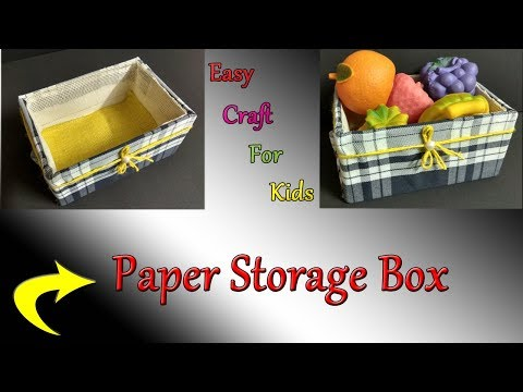 DIY Multi Storage Box | DIY Paper Box | Aadhi's Paper Craft