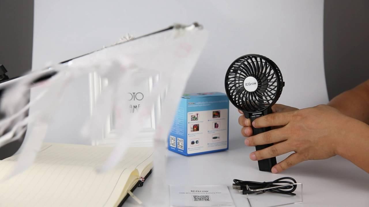 Best Sell Portable Fan Battery Operated Mini Hand Held Clip Fan Youtube