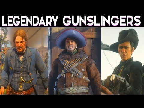 Red Dead Redemption 2 - Billy Midnight Gun Duel / Side Mission All Legendary Gunslingers