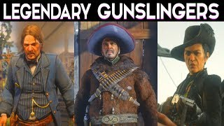 Red Dead Redemption 2 - Billy Midnight Gun Duel / Side Mission All Legendary Gunslingers
