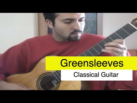 Greensleeves  Classical Guitar  classical music