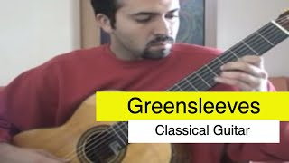 Greensleeves on Classical Guitar