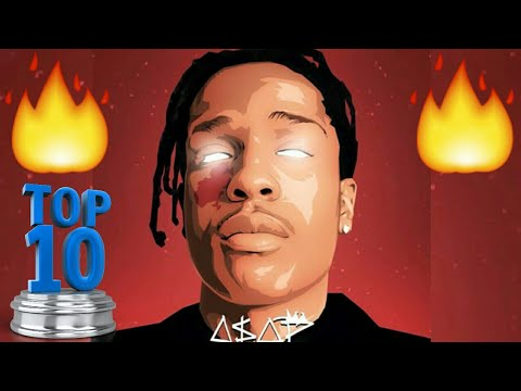 Top 10 - A$AP Rocky Songs! (Best A$AP Rocky Songs)