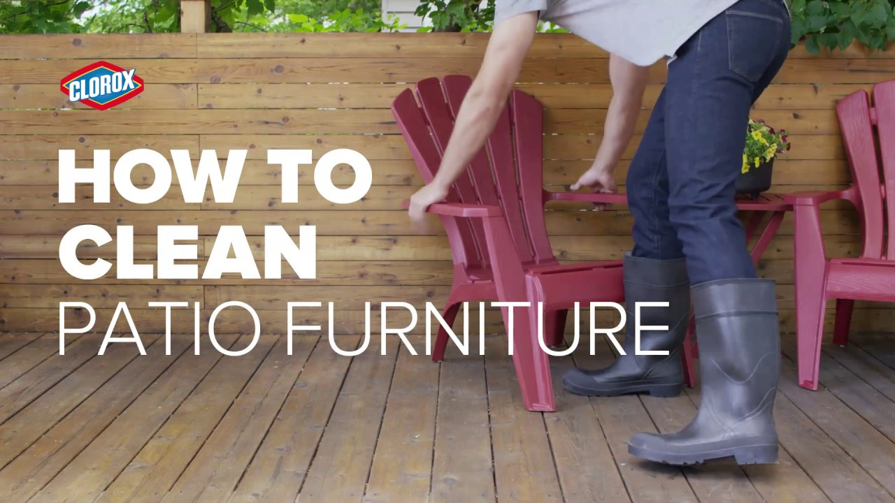 Clorox® How To : Clean Patio Furniture (with Clorox® Outdoor Bleach)