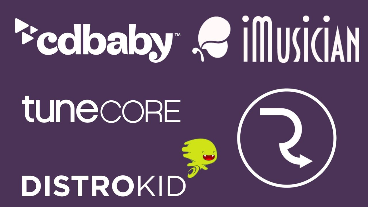 Distrokid vs CdBaby vs Routenote Vs Tunecore Vs Imusician - COMPARACION / ANALISIS