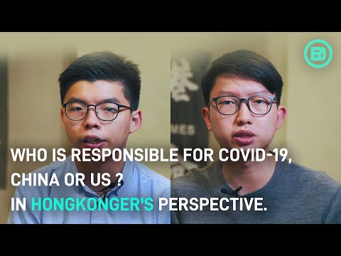 Who is responsible for COVID-19, China or US ? In Hongkonger's perspective|Joshua Wong, Sunny Cheung