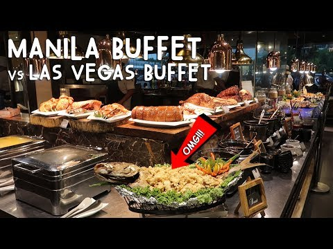 MANILA BUFFET vs LAS VEGAS BUFFET (Which Is Better?) | Vlog #162