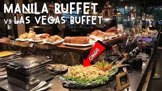 connectYoutube - MANILA BUFFET vs LAS VEGAS BUFFET (Which Is Better?)   Vlog #162