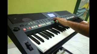 Keyboard Cover for Neele Neele Ambar Par by Yogesh