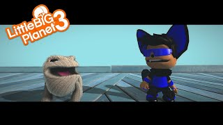LittleBigPlanet 3 - when oddsock hears the word cage