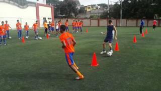 Trabajo Fisico Tecnico y Pase en Futbol