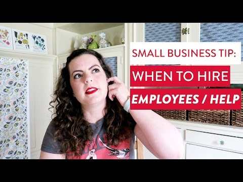 Employees 101: When To Hire Help? | Handmade Small Business
