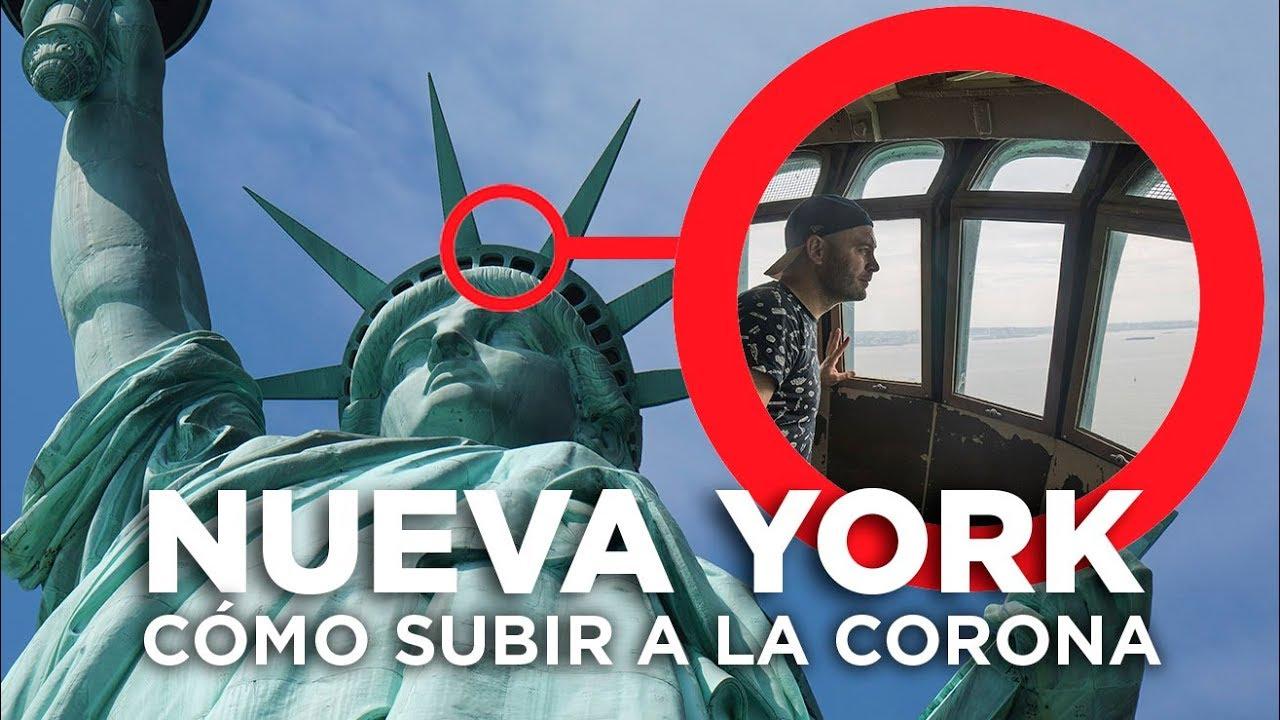 Subir A La Corona De La Estatua De La Libertad Nueva York Youtube