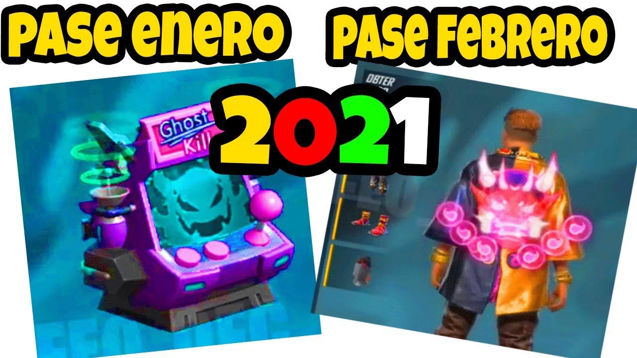 Download ✅ OFICIAL PASE ELITE DE ENERO Y FEBRERO 2021 FREE FIRE COMPLETO DESBLOQUEADO
