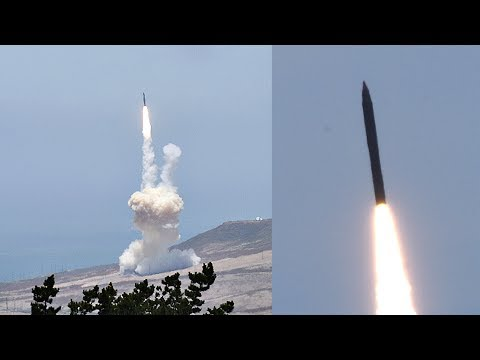 US Missile Defense System Successfully Intercepts ICBM: FTG-15 Test Footage