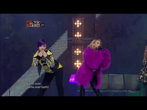 【TVPP】2NE1  1,2,3,4 with Lee Hi, 투애니원  1,2,3,4 with 이하이 @ 2012 KMF