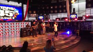 angeline quinto with 4willdrive band on its showtime final rehearsal rare video umiiyak ang puso