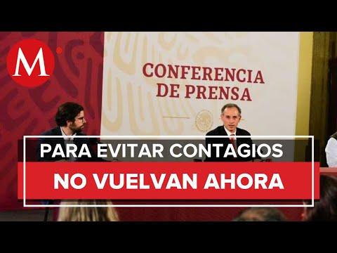 No existe plan de utilizar mecanismo de cerrar fronteras para control de epidemia: López Gatell