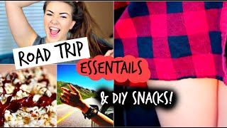 Road-Trip Essentials + DIY Snacks & Makeup / Outfit Ideas!