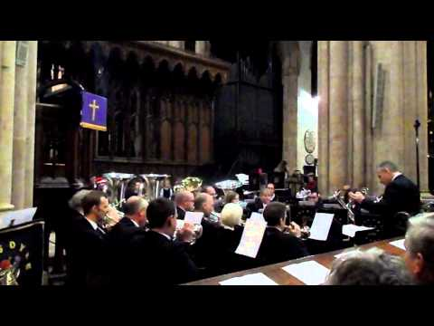 Foss Dyke Band At Carol Concert In Newark Parish Church - Lincolnshire Co-op (5)