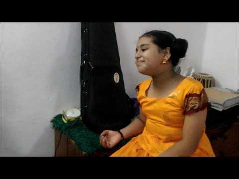 """Thumbappoo peyyana"" song by Sreelaya Sathyan and Sreerag Sathyan"
