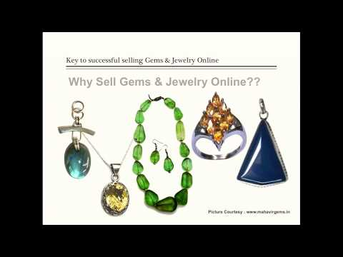 Key to Successful Selling Gems & Jewellery Online