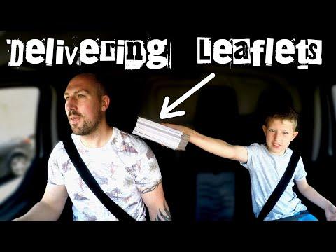Delivering LEAFLETS - How I get 7% of my WORK ENQUIRIES.