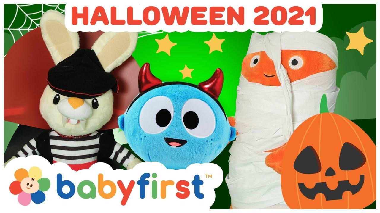 Halloween 2021| Halloween Songs for kids w Color Crew & GooGoo GaaGaa | Trick or Treat | BabyFirstTV