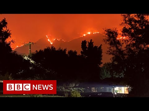 US West Coast fires: Is Trump right to blame forest management? - BBC News