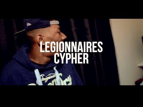 LEGIONNAIRES - CYPHER FT SHOXSTAR,LEFTY,TERROR BLISS [DELAHAYETV]