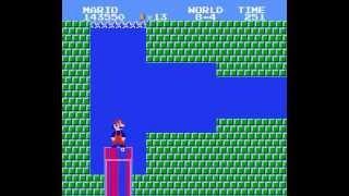 Super Mario Bros Simplified STAGE 8-4 Loop