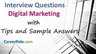 Digital Marketing Interview Questions and Answers - For Freshers and Experienced Candidates