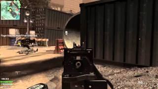 all of Duty: MW3 MP Gameplay: HARDAT : QUAD PREDATOR KILL