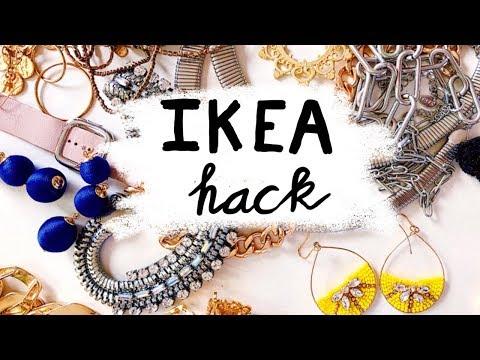 IKEA Hack - IKEA Jewellery Storage Hack