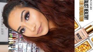 NEW Covergirl Vitalist HEALTHY ELIXIR Soft Honey On Combo Skin - Review - Alexisjayda