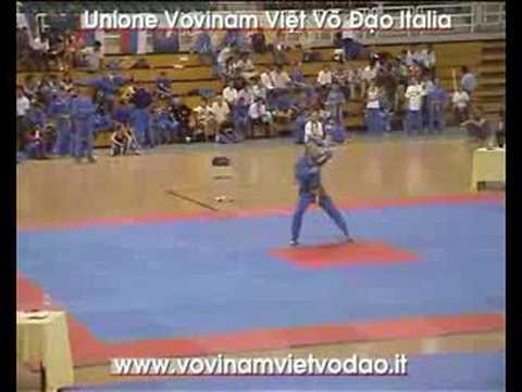 3rd World Vovinam VVD Champ. Thap The Bat Thuc Quyen - M° Alessio Champier
