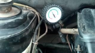 Рабочее давление масла на холостых оборотах ВАЗ калина 1,6 8кл