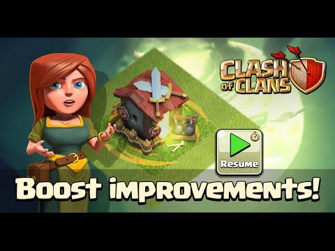 Clash of Clans - Boost Improvements! (Sneak Peek #2)
