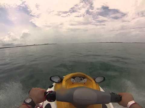 JetSkiing Atlantis Beach, Bahamas! GoPro Hero3