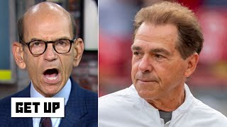 Alabama must beat LSU to make the College Football Playoff - Paul Finebaum | Get Up