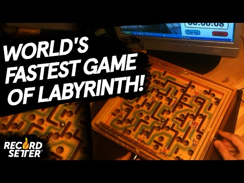 Fastest Time To Complete A Game Of Labyrinth!