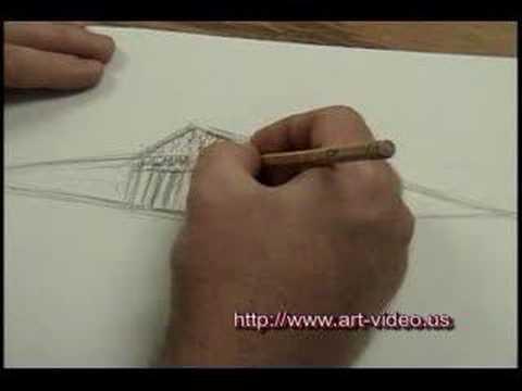Drawing A Greek Temple