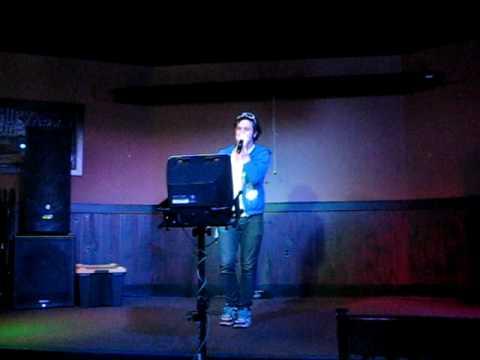 """Steve Singing """"One Week"""" By The Barenaked Ladies At Karaoke."""